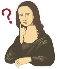 Perplexity of Mona Lisa