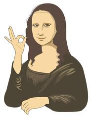 Approval of Mona Lisa