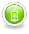 "Light Green Icon ""Cell Phone"""