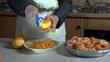 grattare arance