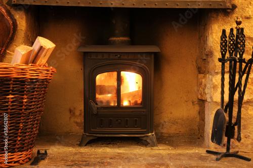 Wood burning stove - 38642807
