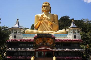Goldem Temple in Bandulla