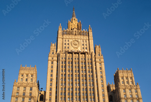 Ministry of Foreign Affairs Building in Moscow