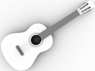 Spanish flamenco guitar
