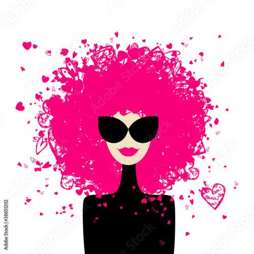 Papiers peints Visage de femme Fashion woman portrait for your design