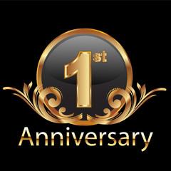 1st first anniversary celebration