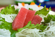 Fresh, Raw Ahi Tuna Sushi