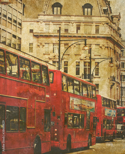 old london bus photo
