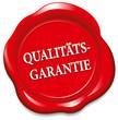Siegel Qualitätsgarantie