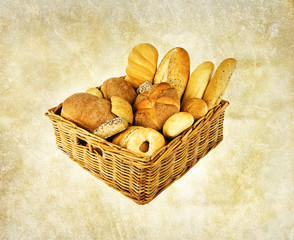 rustic bread basket