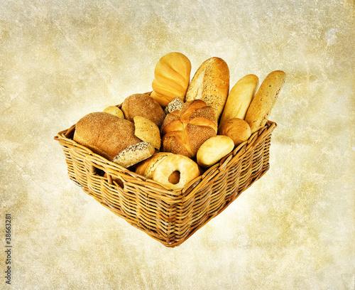 rustic bread basket