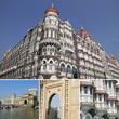 collage with Taja Mahal hotel  in Mumbai