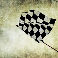 winner flag print