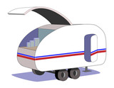 Basic Teardrop Trailer