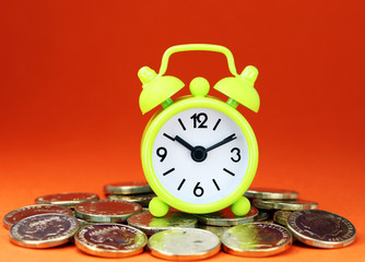 Lime Clock Watches The Money