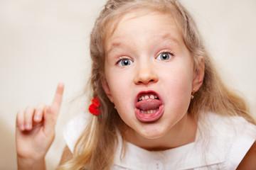 Swearing child