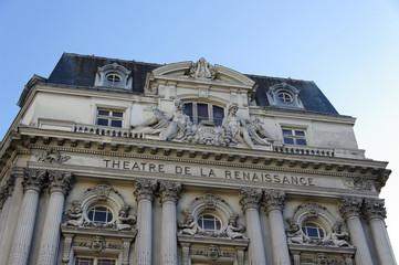 Théâtre de la Renaissance, Paris, France.