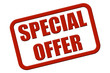 Stempel rot rel SPECIAL OFFER