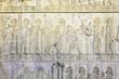 relief of Persepolis in Fars Province, Shiraz, Iran