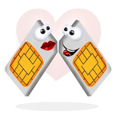 dual sim in love