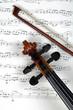 Komposition für Geige