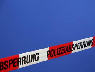 Polizeiabsperrband / Polizeiabsperrung
