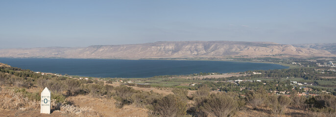 sea of galilee in north israel