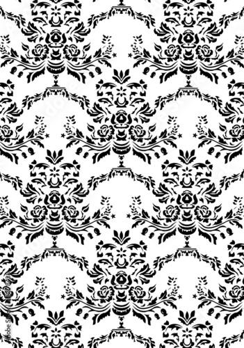 Muster schwarz- weiß - 38678438