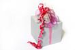 Ein Geschenk mit Schleife