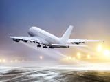 Fototapete Sturm - Bildschirm - Flugzeug