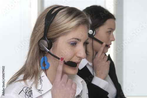 ragazze call center