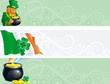 Vector banners for  St. Patrick's Day