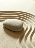 zen serenity calmness poster