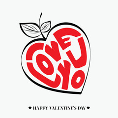 I Love You - Happy Valentine's Card