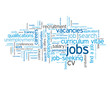 """JOBS"" Tag Cloud (recruitment employment careers vacancies cv)"