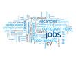 """""""JOBS"""" Tag Cloud (recruitment employment careers vacancies cv)"""