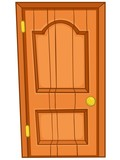 Cartoon Home Door