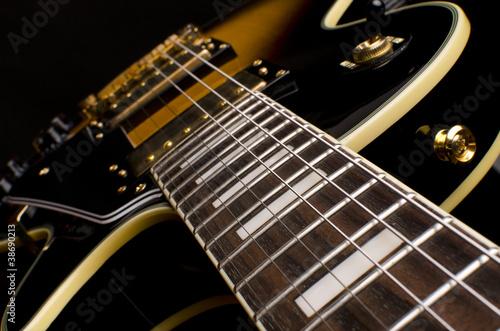 Electric guitar close up - 38690213