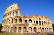 Leinwanddruck Bild - The iconic ancient Colosseum of Rome