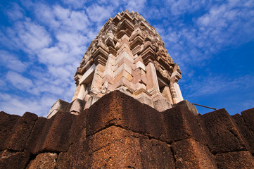 Castle rocks at SraKaew Province in Thailand.