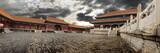 Fototapeta sztuka - azja - Starożytna Budowla