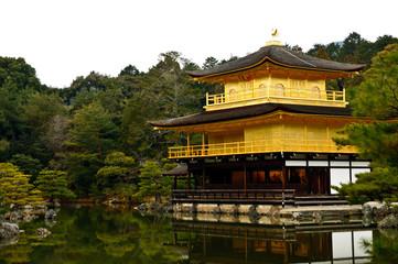 Kinkakuji Temple, Kyoto Japan