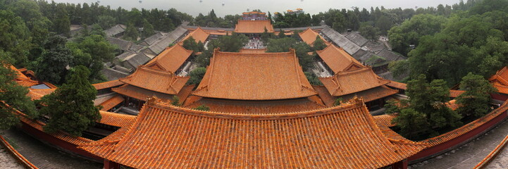 top view of the summer palace roof