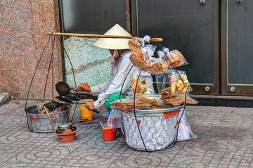 marchand commerce rue vietnam saigon