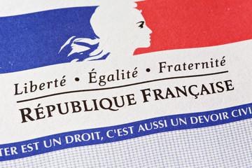 Symbole Réplublique Française