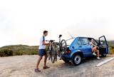 Fototapety bicycle panorama