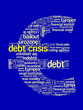 DEBT CRISIS Tag Cloud (eurozone euro symbol recession europe)