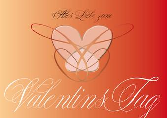 Valentinstag, Liebe, Herzen, virtuell