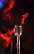 microphone vintage, rock live