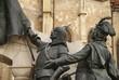 bronze figures, Cluj Napoca, Romania